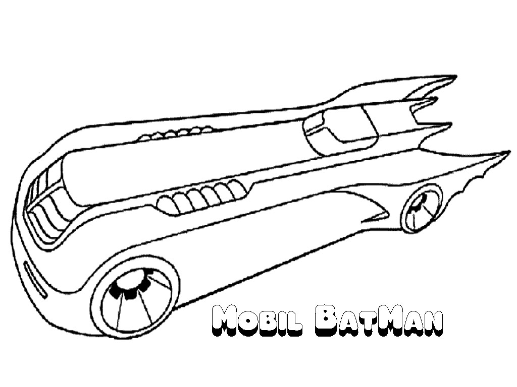 coloring pages batman printable template-#33