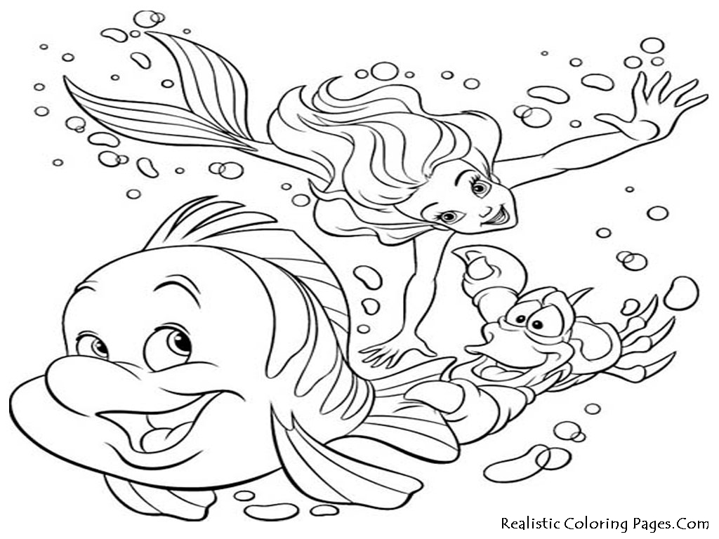 Sea Life Coloring Pages 01