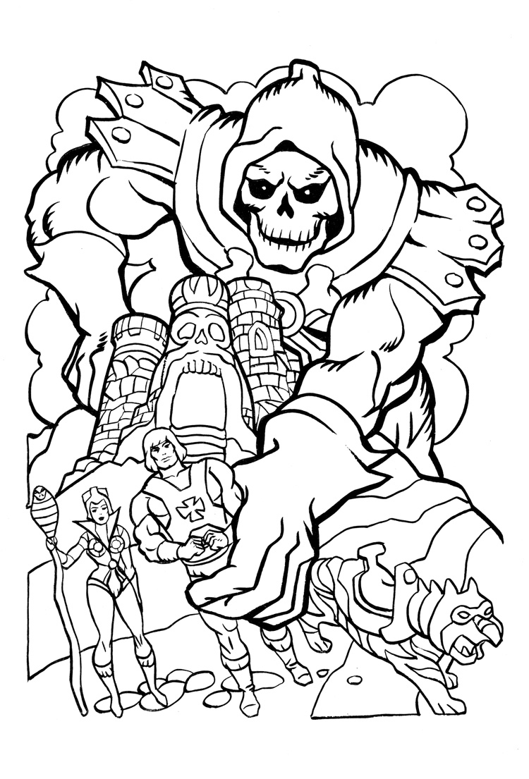 he man coloring pages printable 01