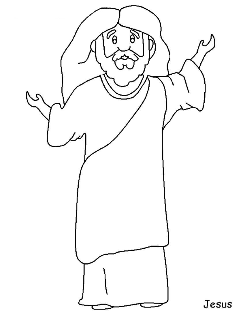 coloring pages of jesus jesus color sheets only coloring pages