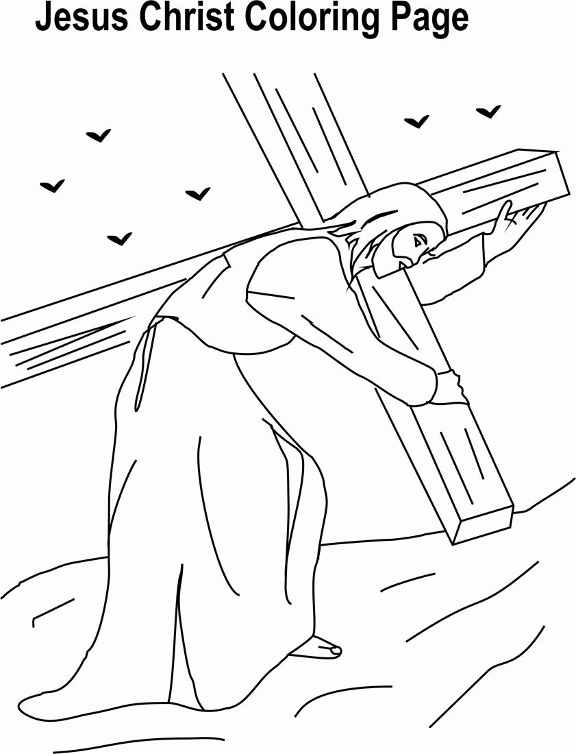 jesus christ coloring pages - photo#36
