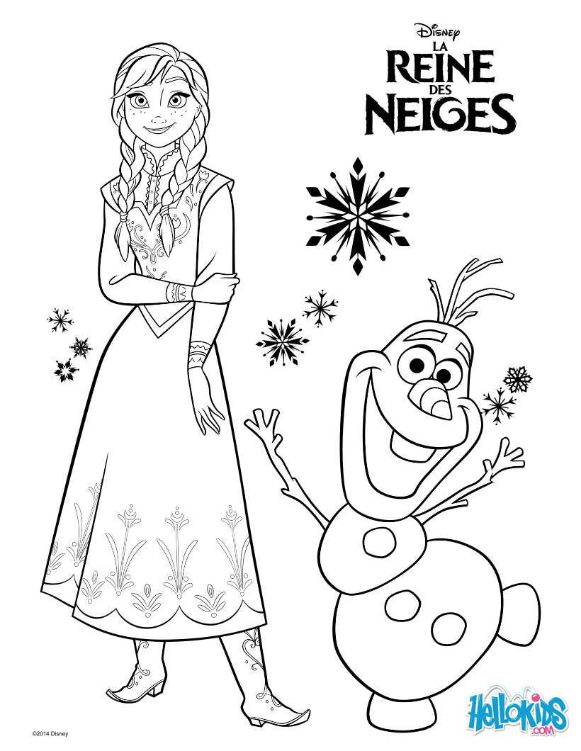 Frozen Coloring Pages Printable Pdf : Princess coloring frozen free only pages