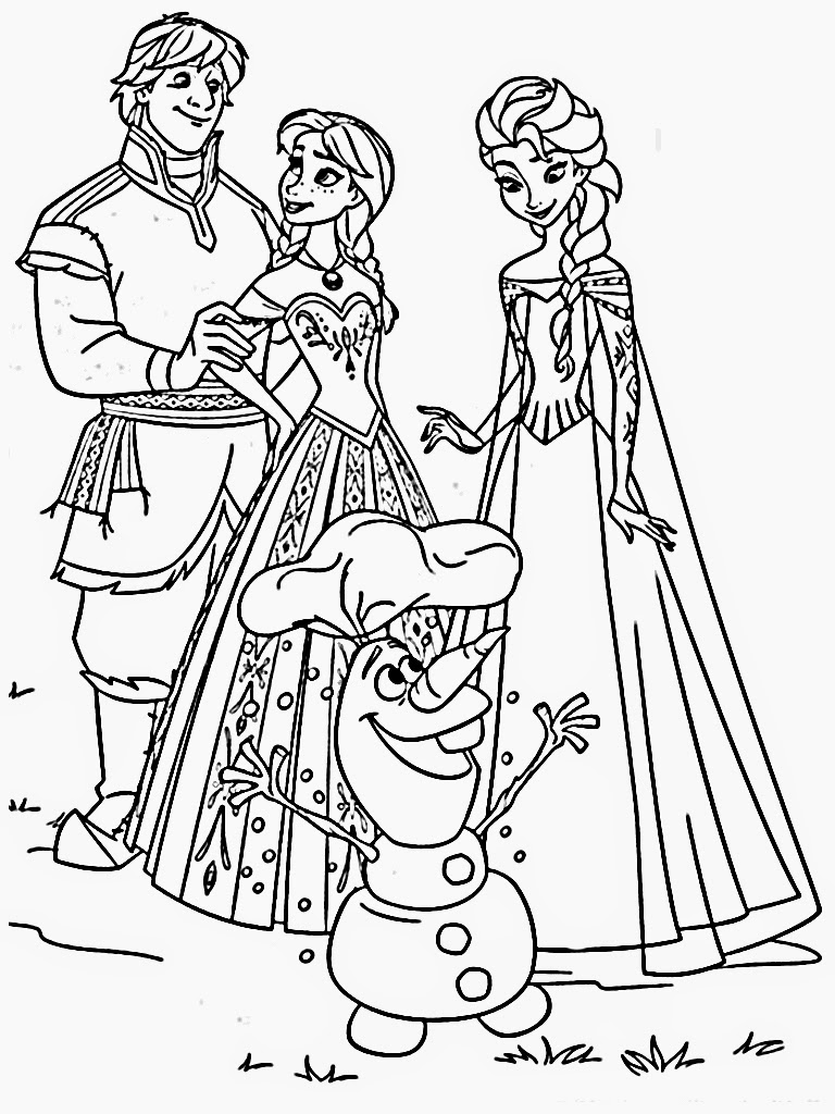 Princess coloring frozen free only coloring pages for Frozen coloring pages free