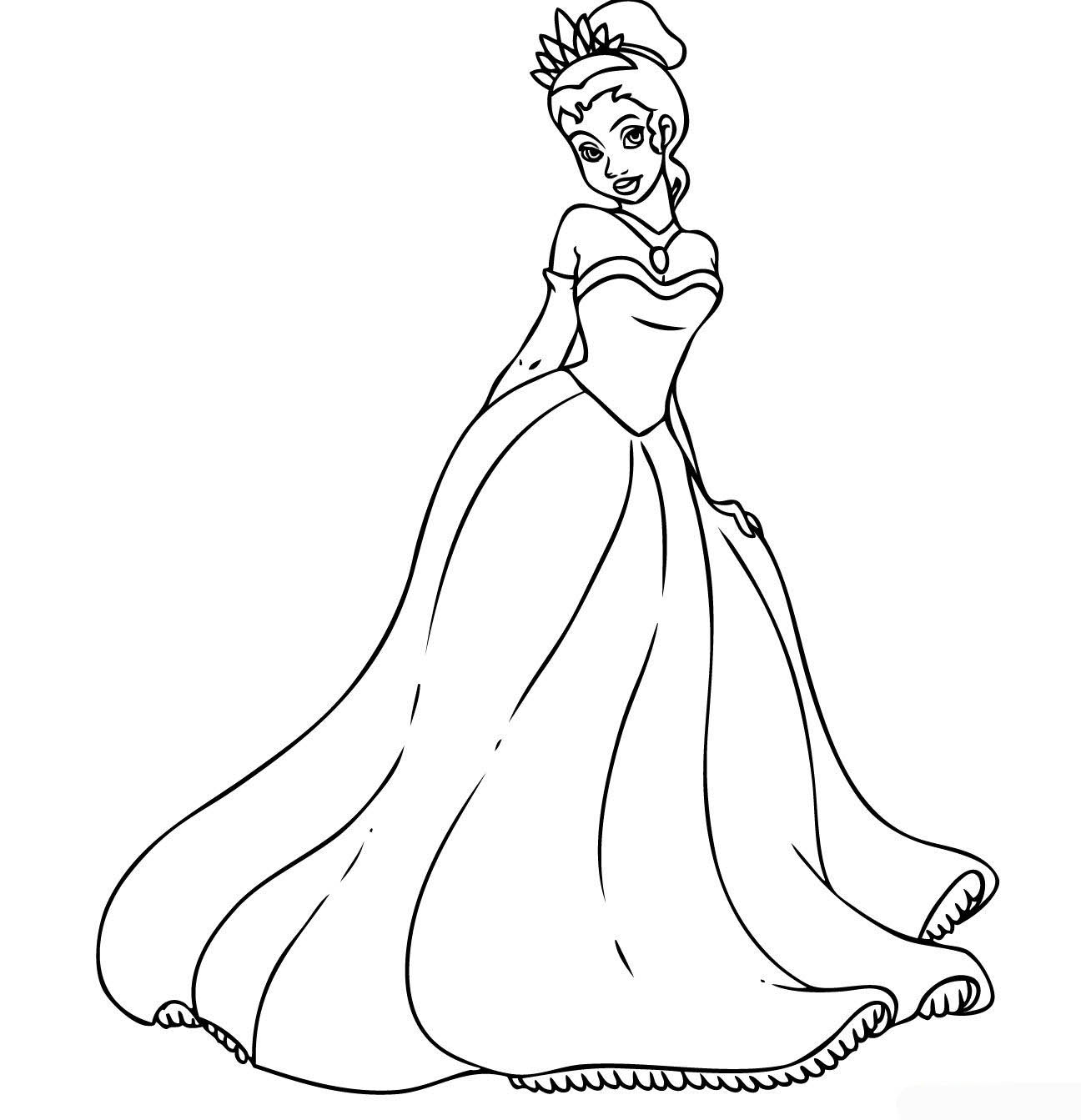 Princess Coloring Frozen Free Pinterest Princess Frozen Princess Pictures To Color Printable