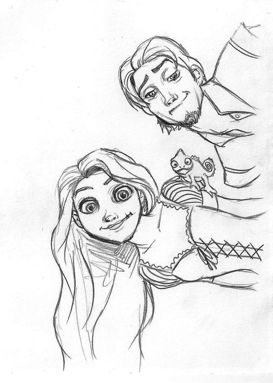 Pascal Coloring Pages Pascal Tangled Coloring Pages Kids Printable ...