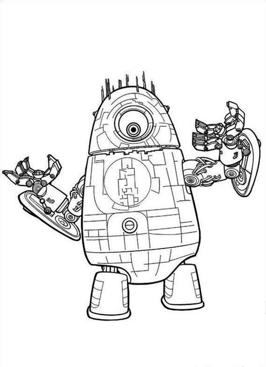 Coloring sheets robots - Robot Coloring Pages Only Coloring Pages