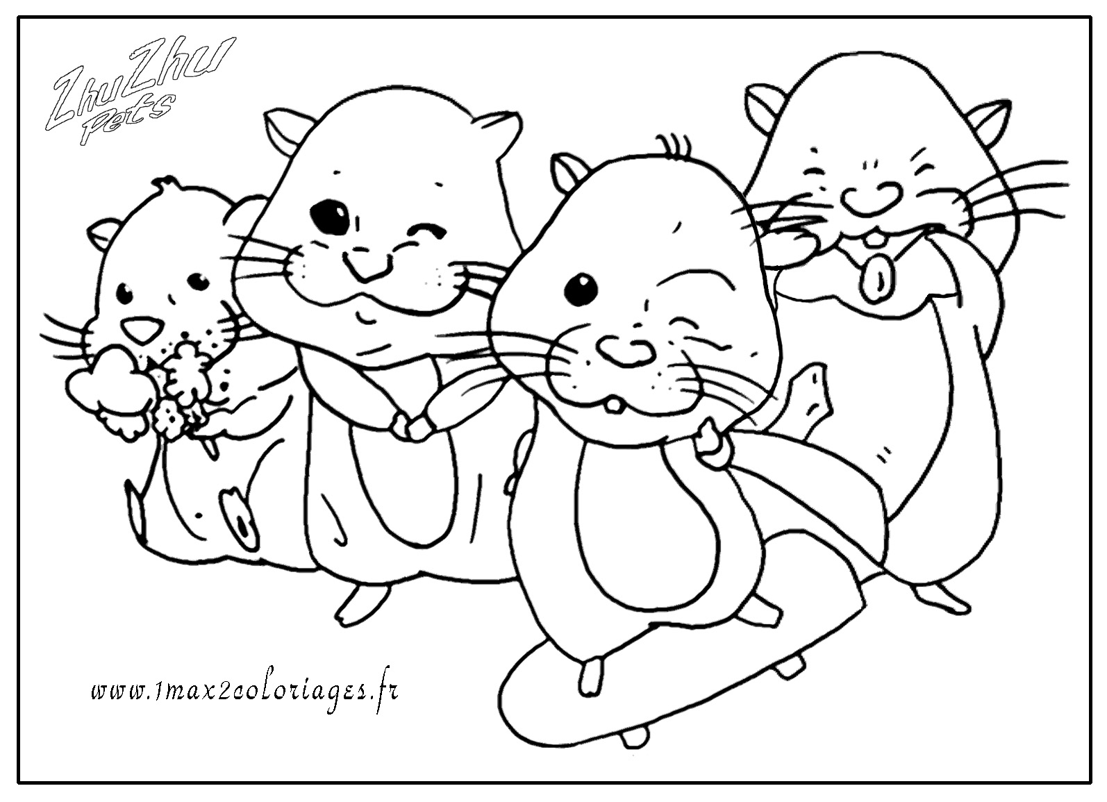 coloring pages of zuzu pets - photo#10