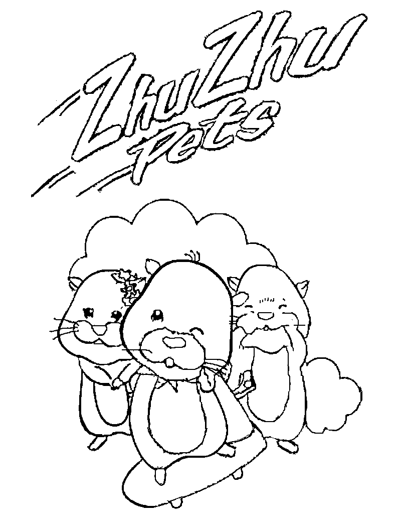 zhu zhu pets coloring pages zhu pet coloring pages only coloring pages
