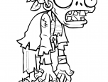 zombie coloring pages