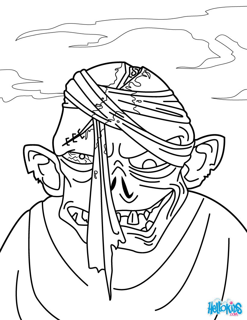 zombie coloring pages Only Coloring