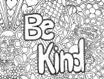 just say no coloring pages