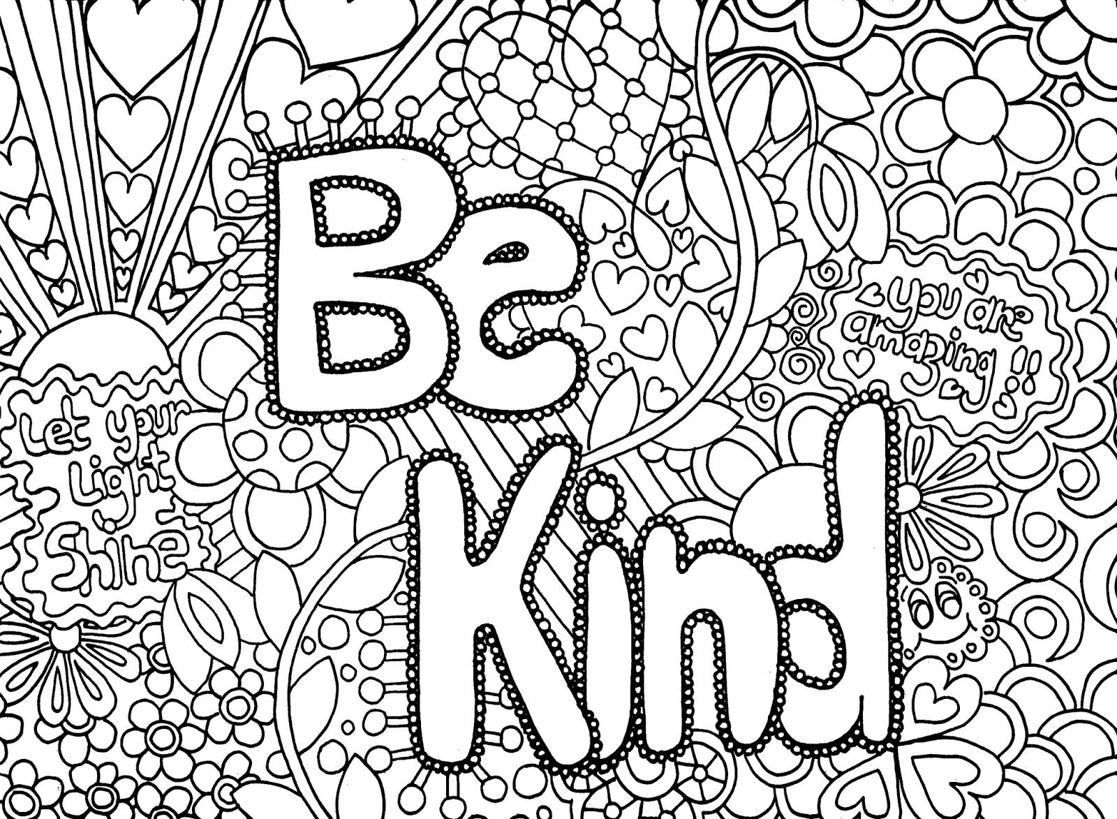 coloring pages to print for teenagers | Only Coloring ...
