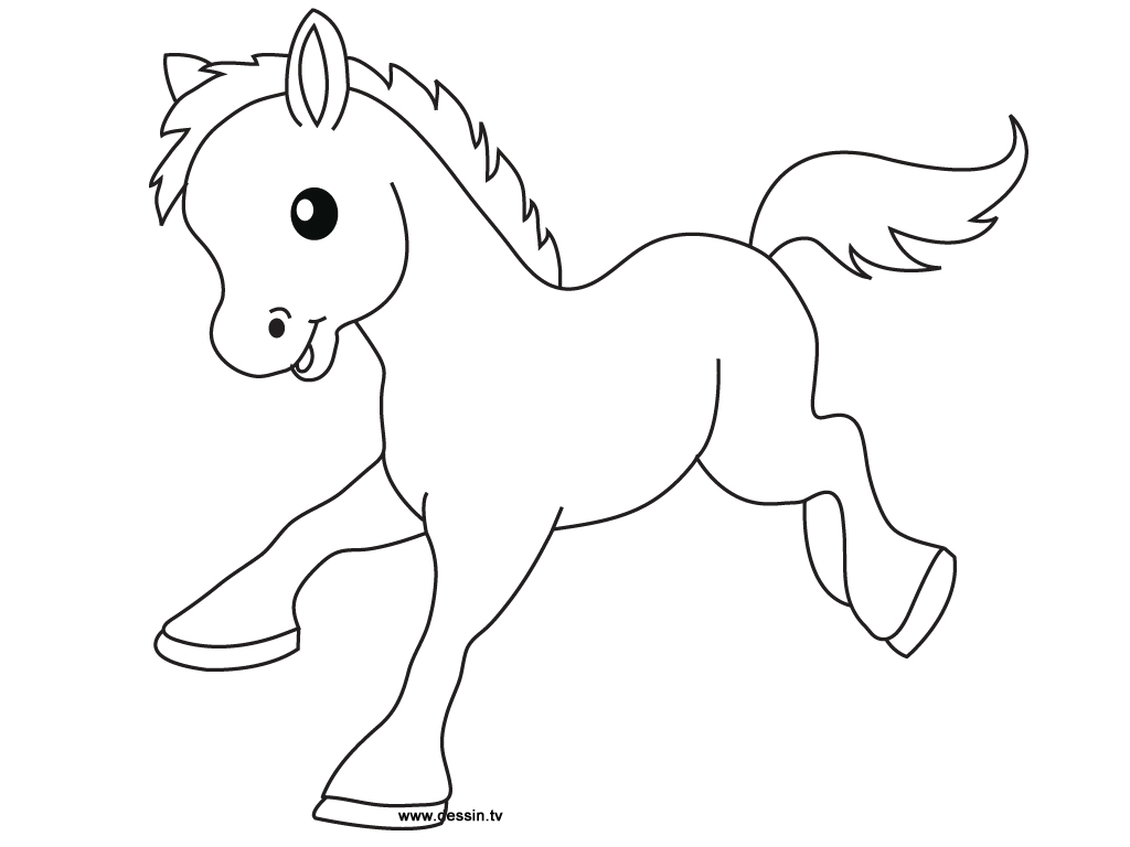 cute baby horse coloring pages only coloring pages