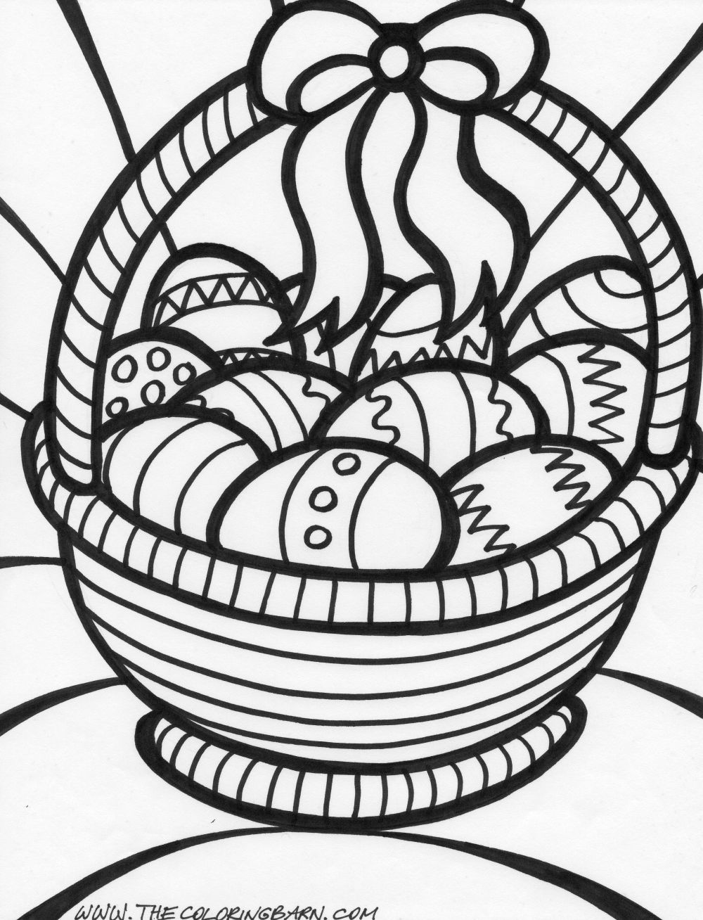 Easter egg coloring sheets printable only coloring pages for Free easter coloring page