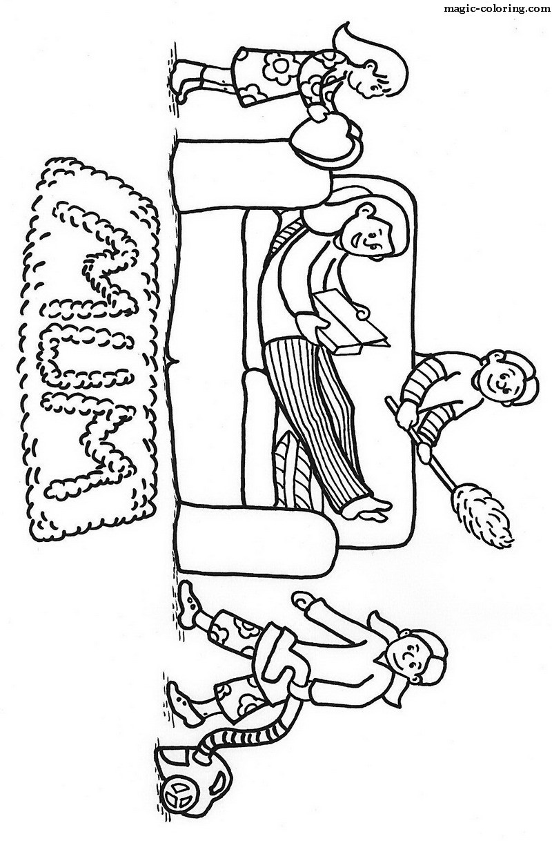 Womans Day Coloring Pages 01