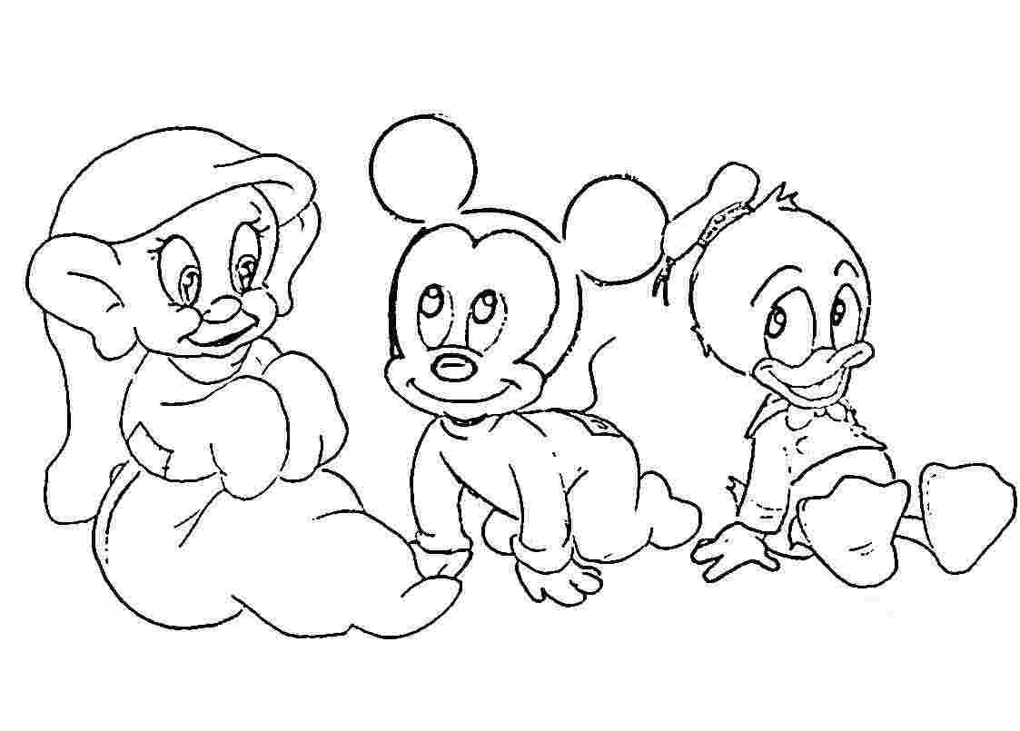 baby coloring sheets only coloring pages