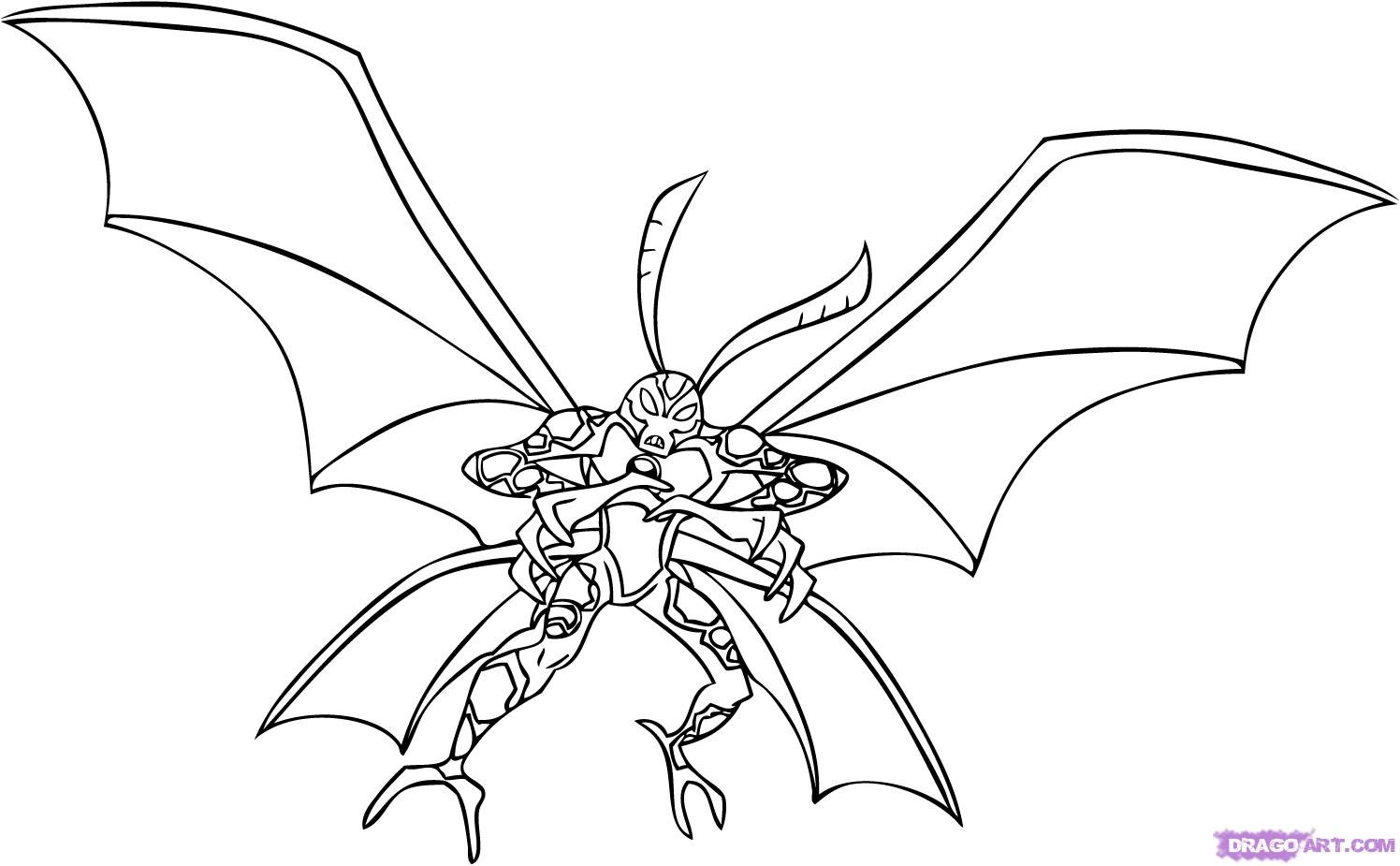 Ben 10 coloring pages only coloring pages for Ten coloring page