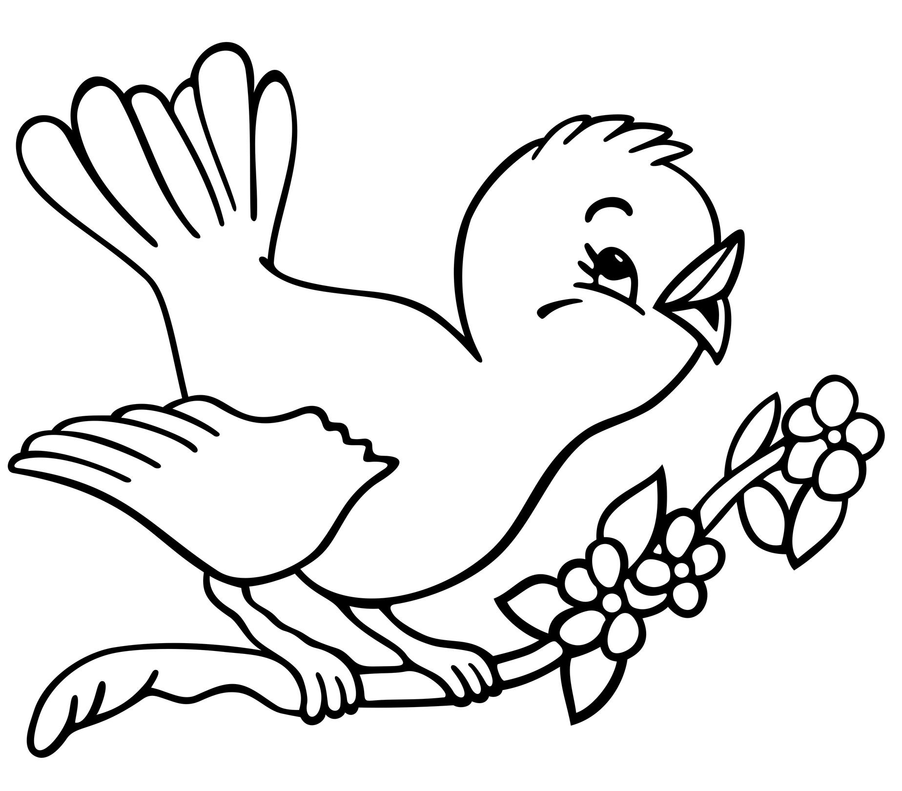 bird coloring pages 01