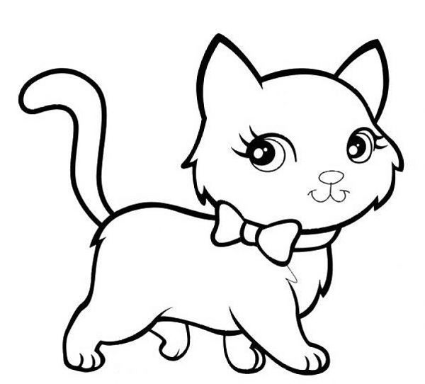 cat coloring pages realistic cat - photo#35