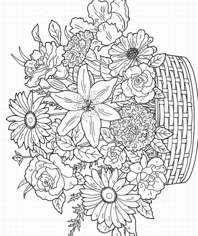Free Coloring Pages For Adults 01