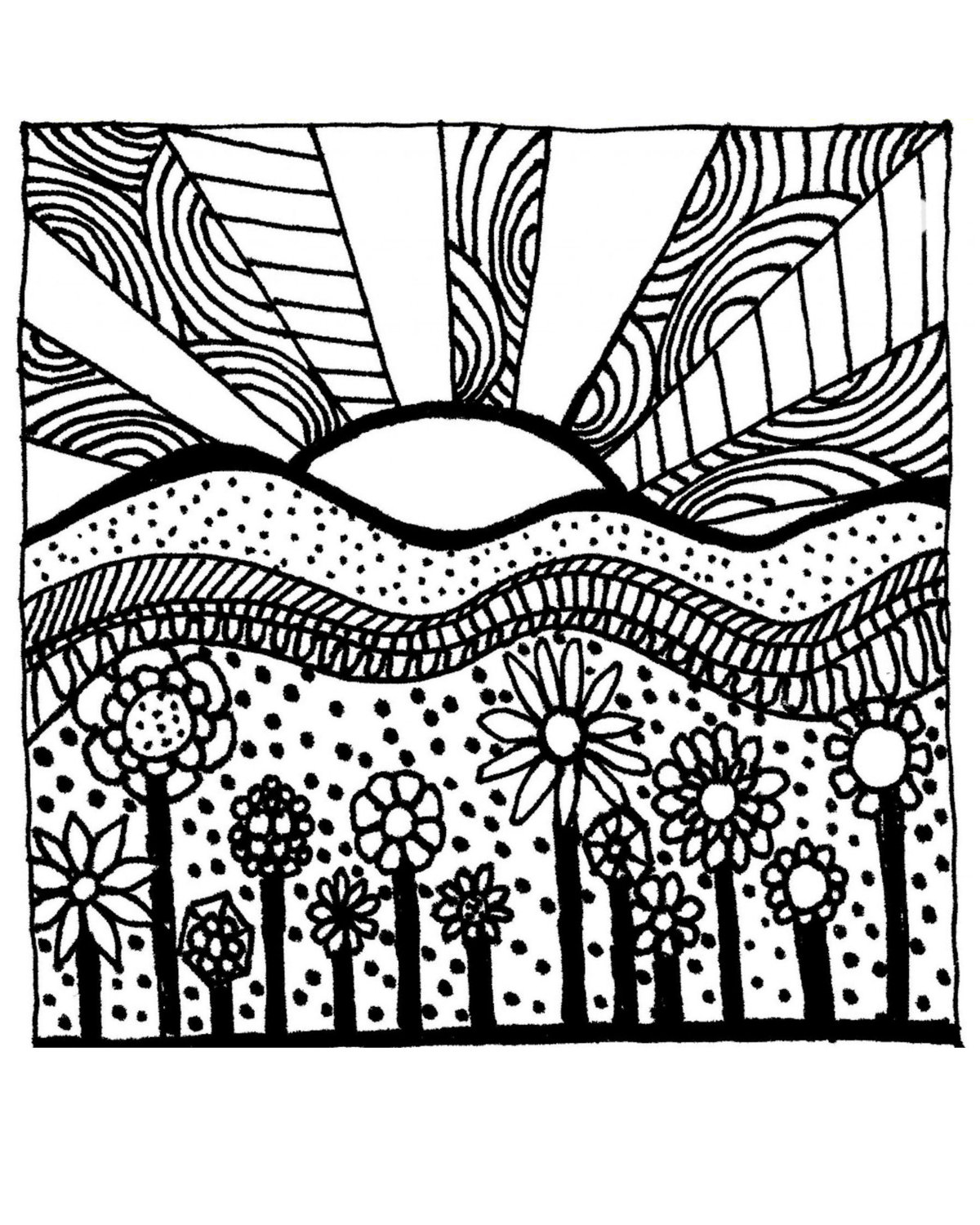 Free coloring pages for adults only coloring pages for Adult color page