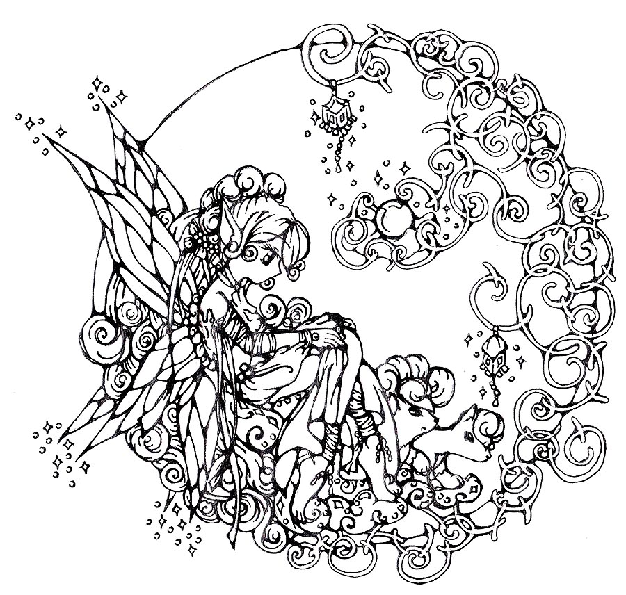Intricate Goth Coloring Pages Free Printable Coloring Pages For Adults Only
