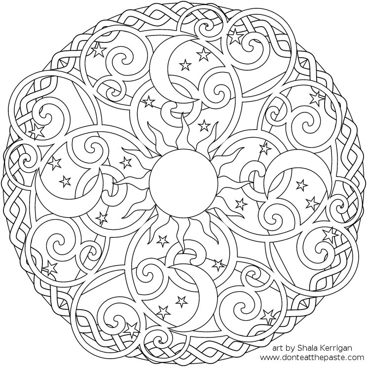 mandala coloring pages 01