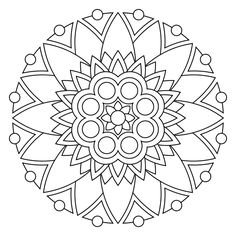 mandala coloring pages 04