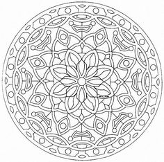 mandala coloring pages 07