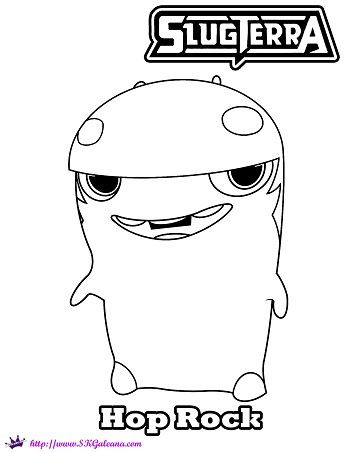 slugterra coloring pages transformation tuesday - photo#24