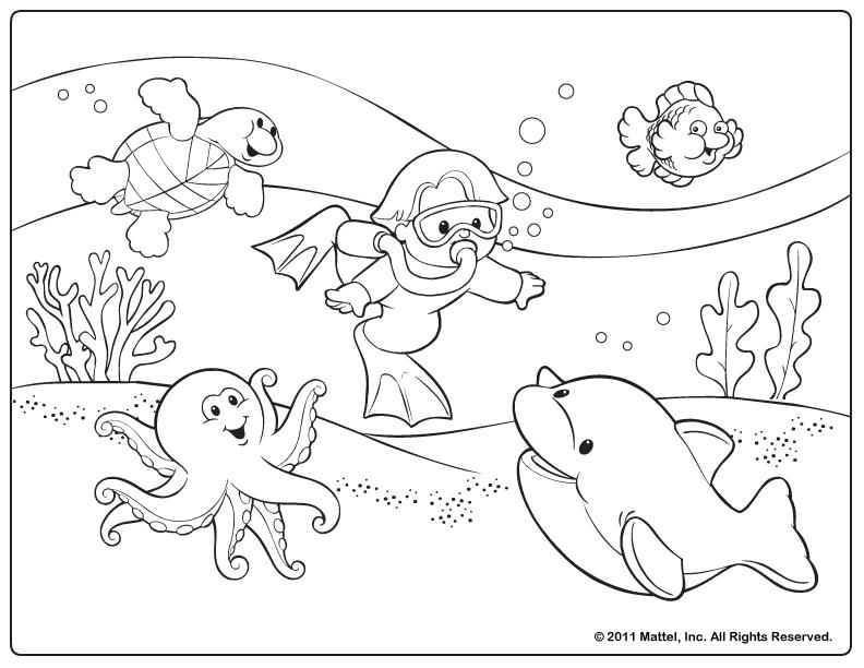 Summer coloring pages only coloring pages for Free coloring pages of summer