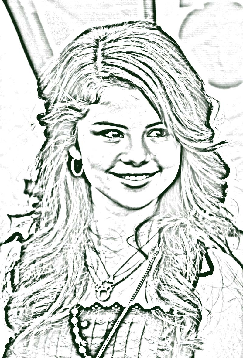 taylor alison swift coloring page