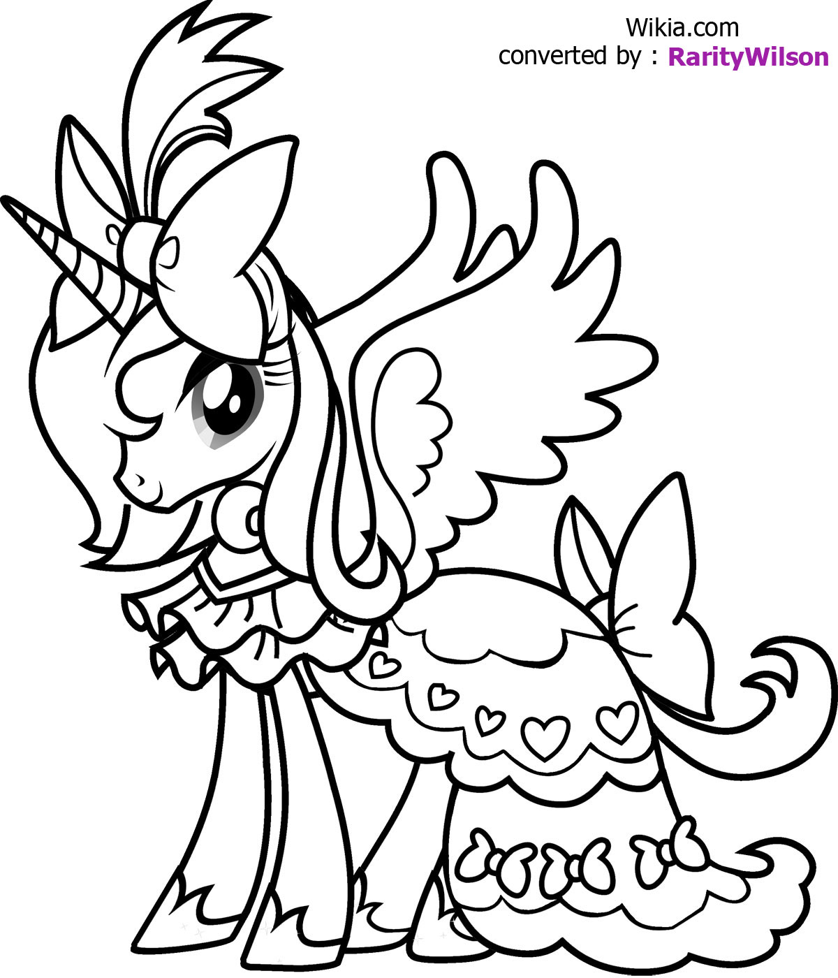unicorn coloring pages Only Coloring