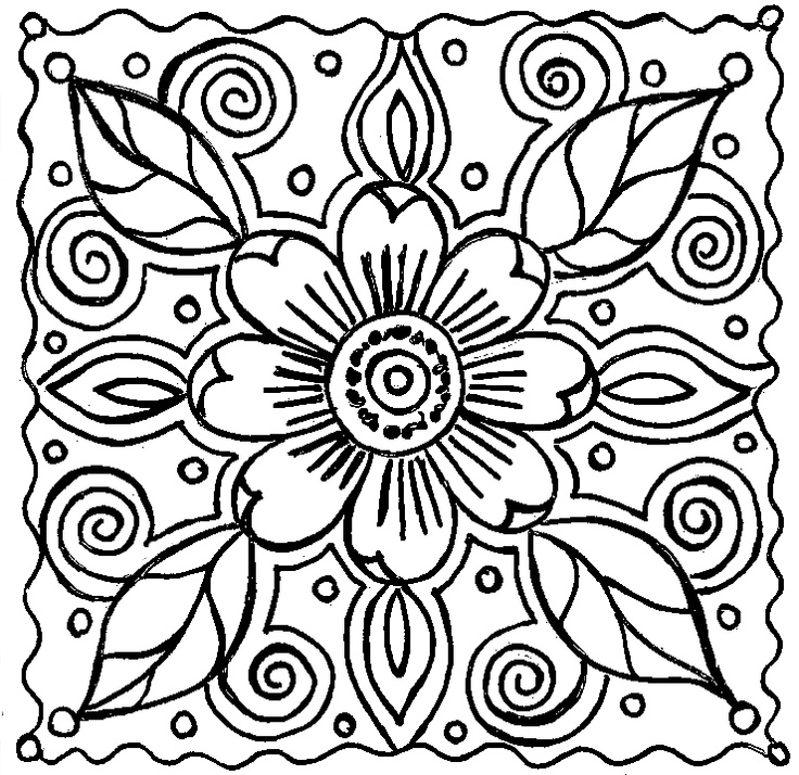 Abstract Coloring Pages 01