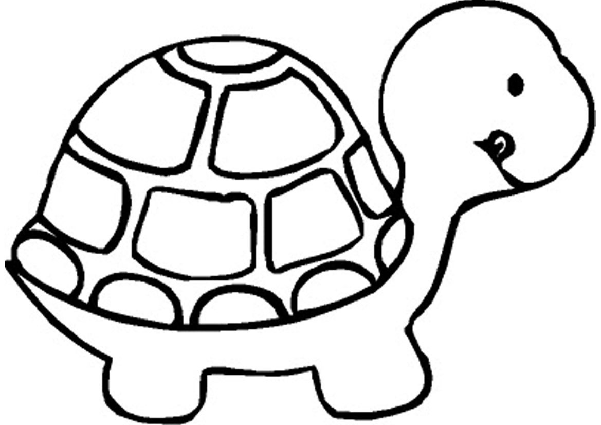 Coloring book pages farm animals - Coloring Pages Simple Animal Coloring Pages Basic Animal Coloring Pages Page Baby 02