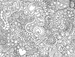 difficult coloring pages free