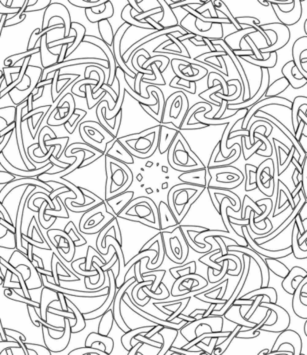 hard coloring pages for free - photo#6