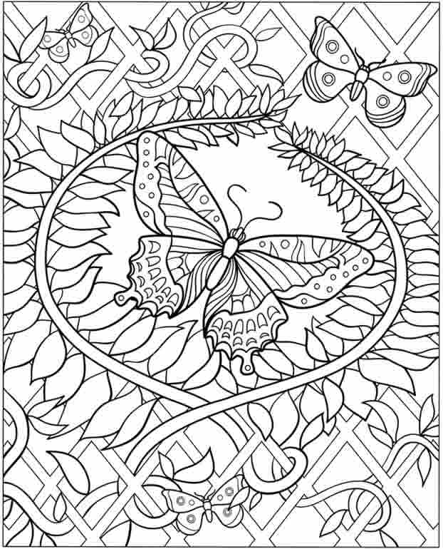 difficult coloring pages printable 01