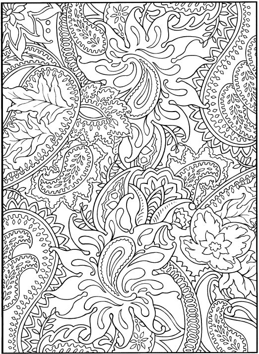 Difficult Hard Coloring Pages Printable Pinterest