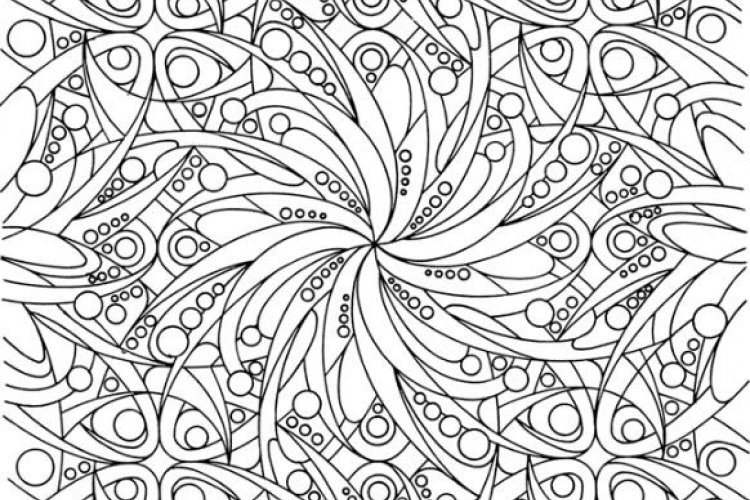 hard coloring pages for adults - photo#12