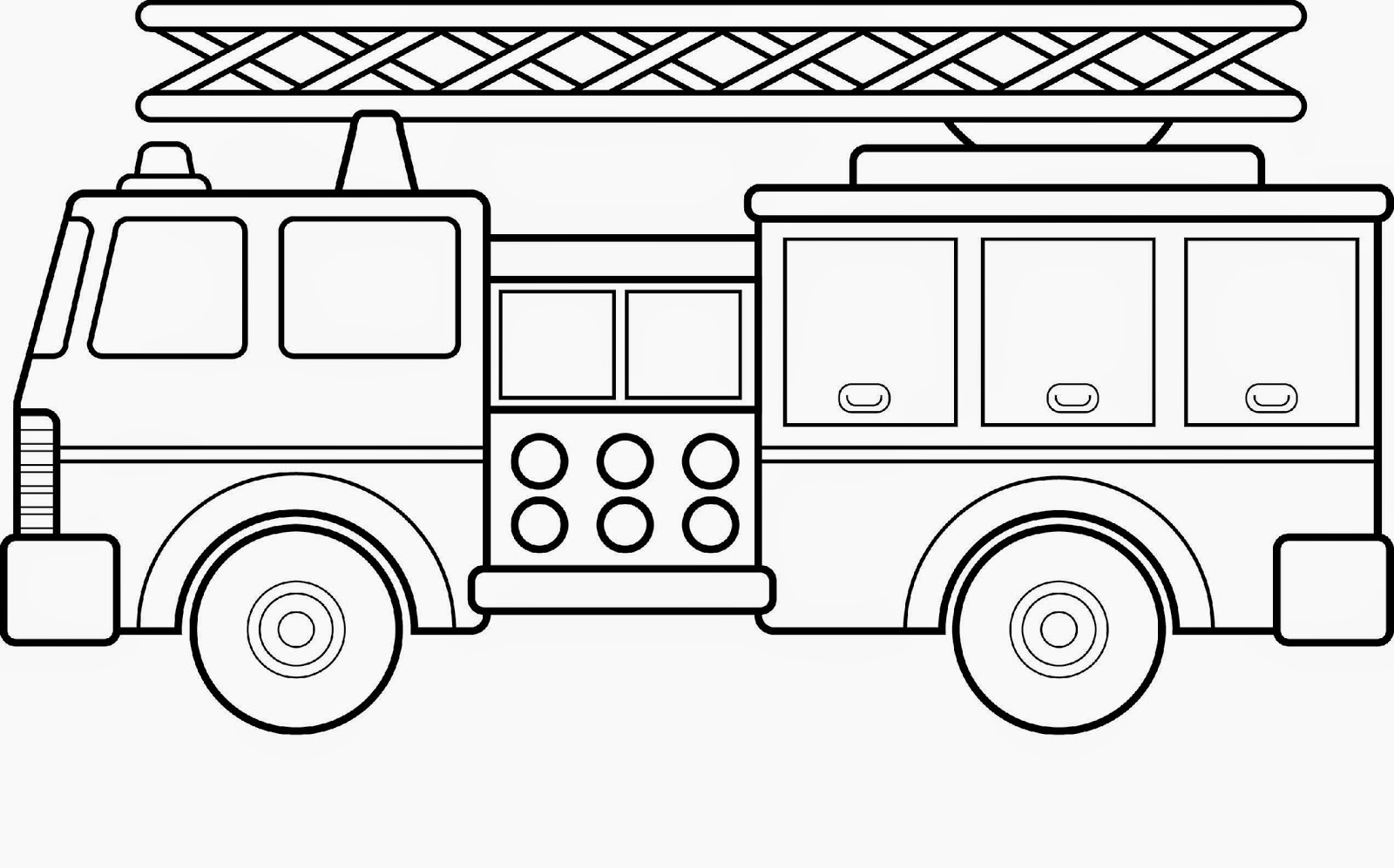 Fire truck coloring pages only coloring pages for Fire coloring page