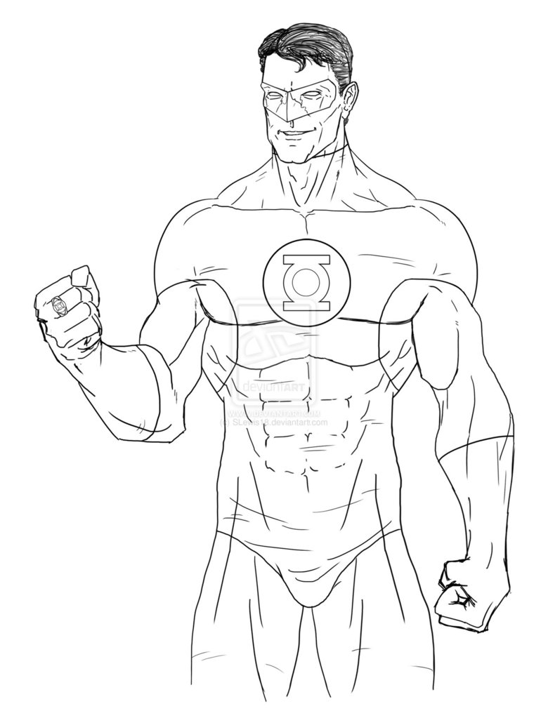 Green Lantern Coloring Pages Only Coloring Pages Green Lantern Coloring Page