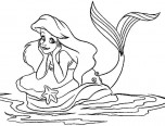 kids coloring pages princess ariel