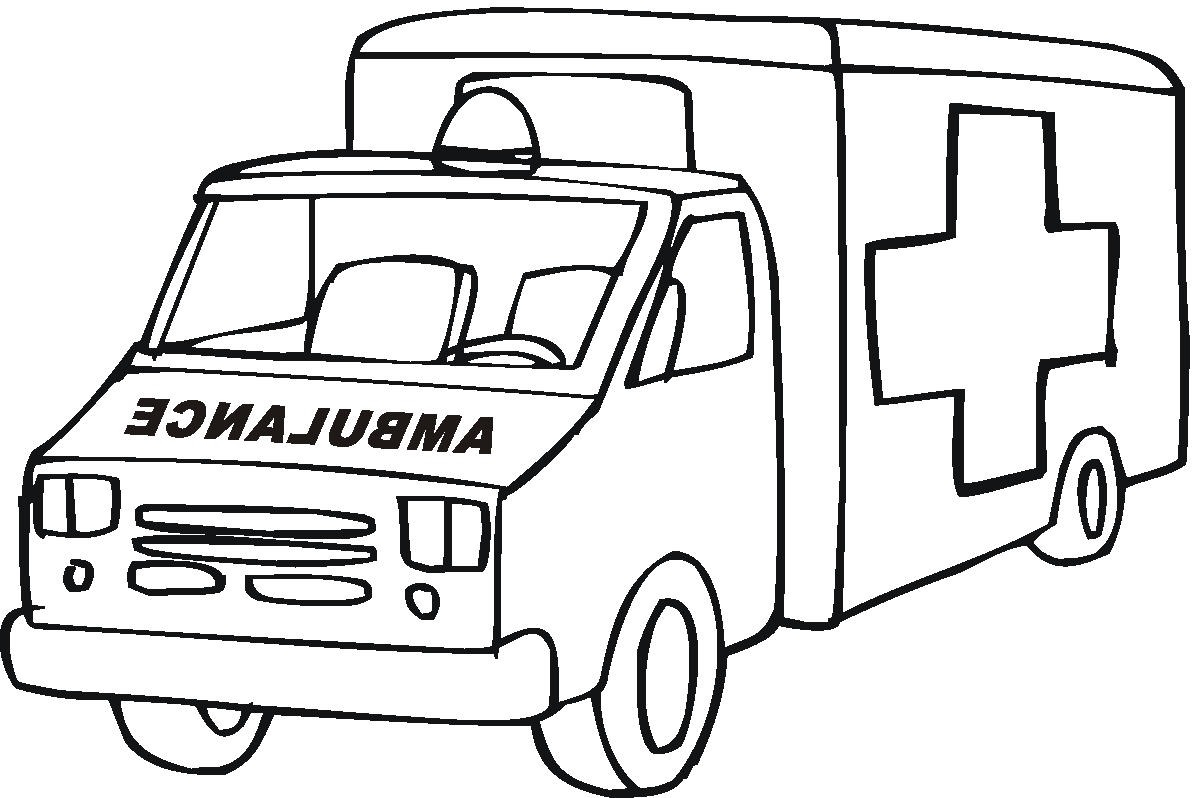 Lego Ambulance Coloring Pages 01