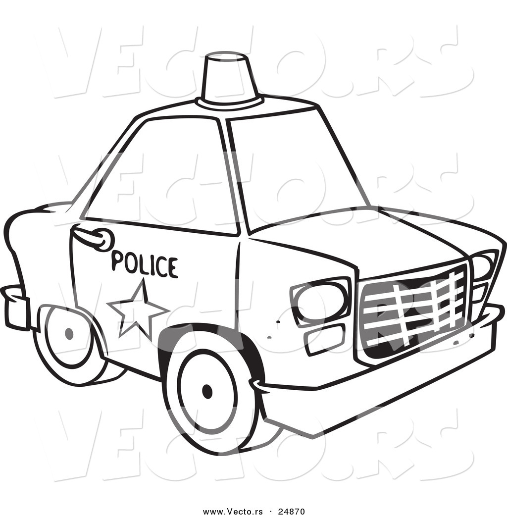 police car coloring pages Only