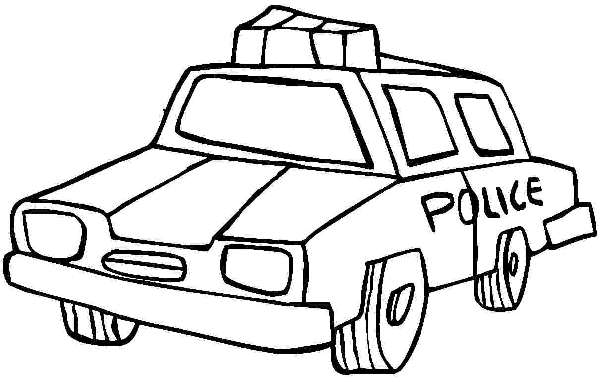 police car coloring page - police car coloring pages only coloring pages