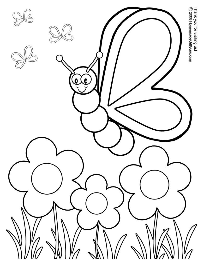 preschool coloring sheets 01