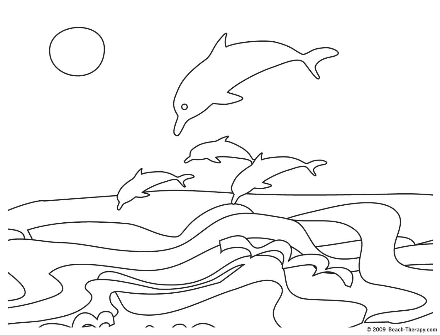 summer beach coloring pages for kids 01