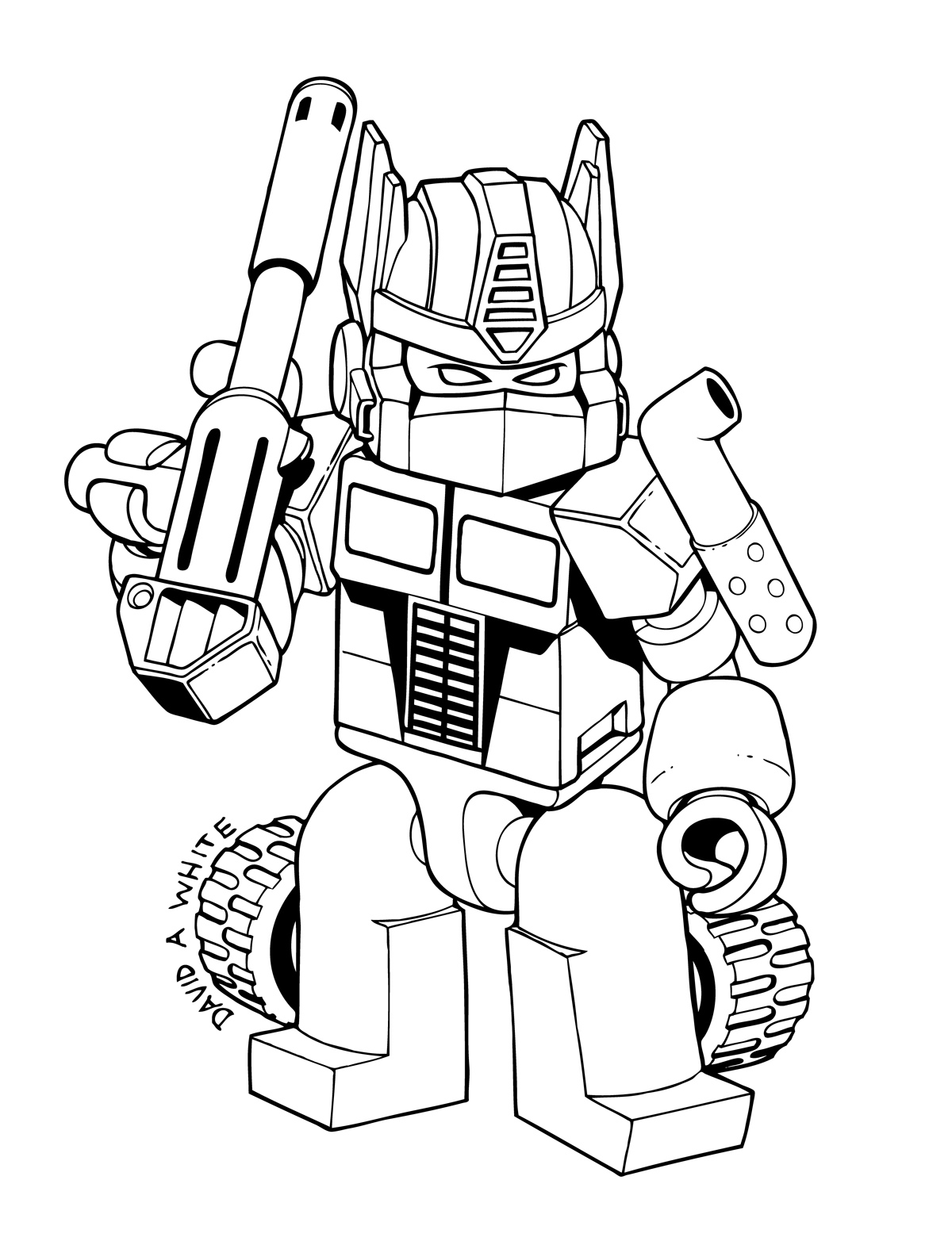 transformers coloring sheets | Only Coloring Pages