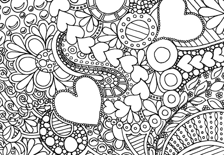 Adult Coloring Page 01